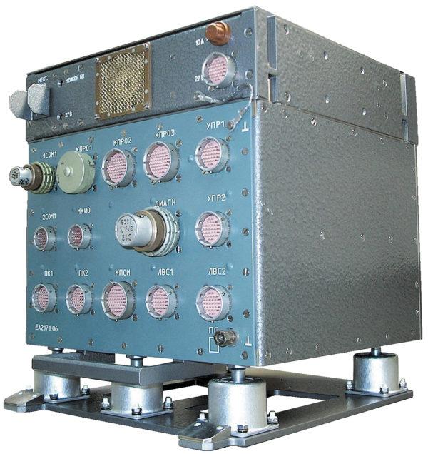 Типовой системный блок бортового вычислительного комплекса