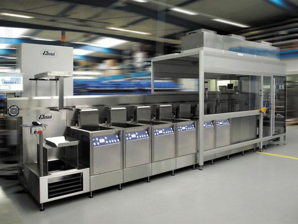 Автоматизированная линия отмывки на базе моек X-tra line precision 550