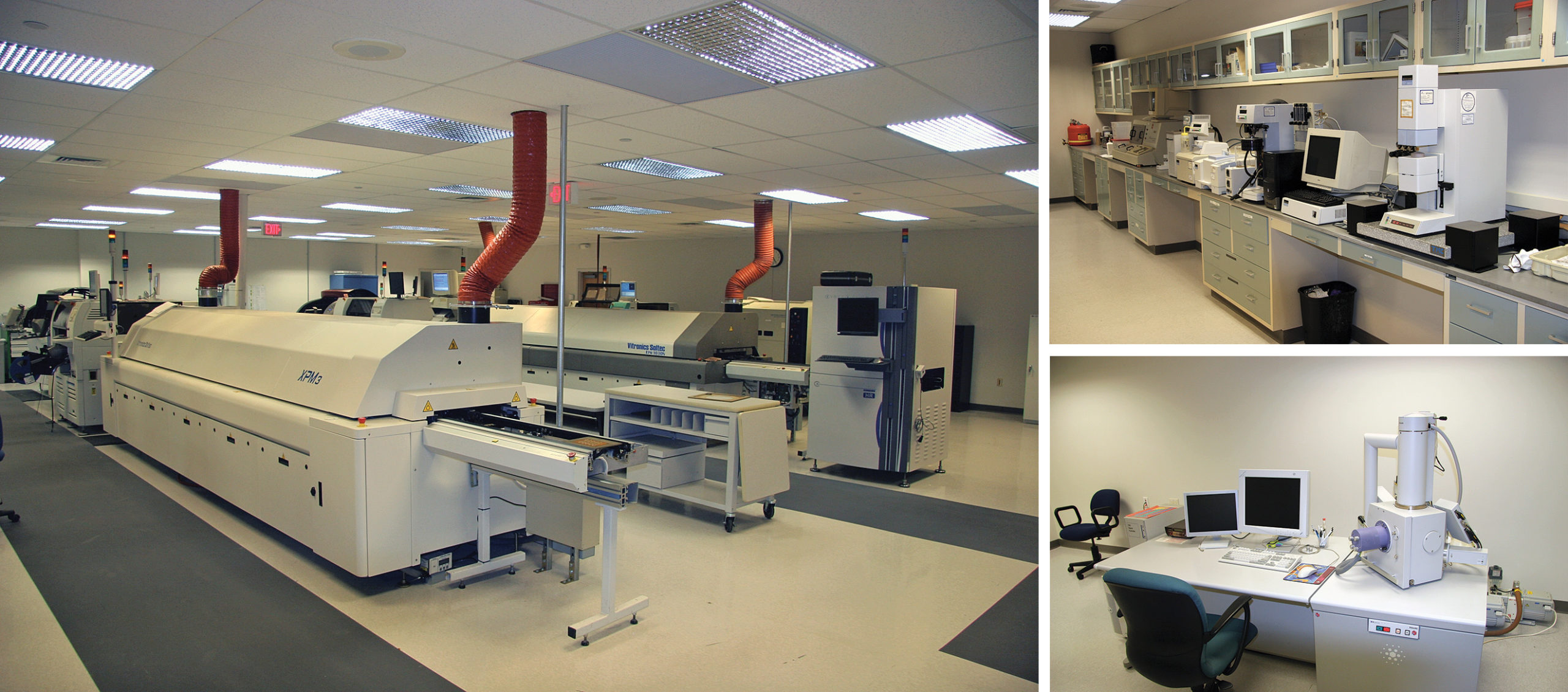 Образцы оборудования, используемого для проведения исследований в Лаборатории APL