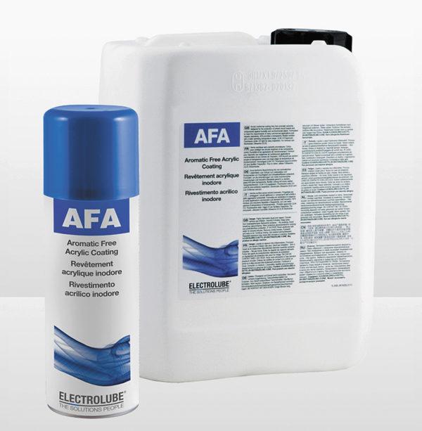Electrolube AFA — акриловое защитное покрытие