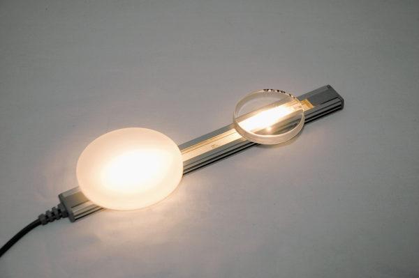Сравнение прозрачных (UR5634) и рассеивающих (UR5635) полиуретановых смол