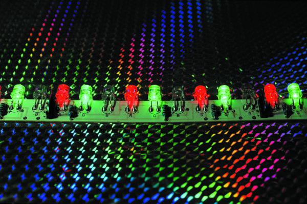RGB светодиодное устройство