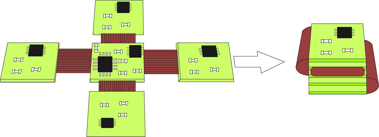 3D-исполнение печатной платы