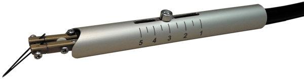Внешний вид БИС-05 — инструмента сварки сдвоенным электродом