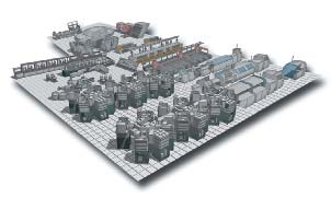 Пример будущего производства гибридных интегральных схем, микроэлектронных компонентов, печатных плат, печатных узлов