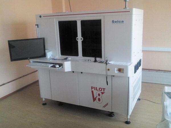 Тестовая система с подвижными пробниками для внутрисхемного и функционального тестирования Pilot V8