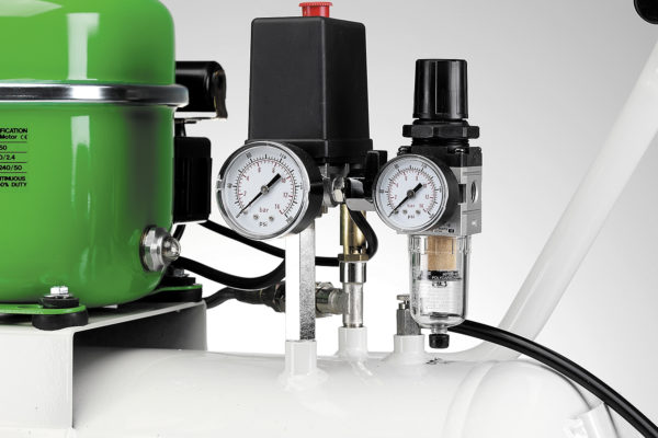 Воздушный фильтр 10 мкм, объединенный с регулятором давления
