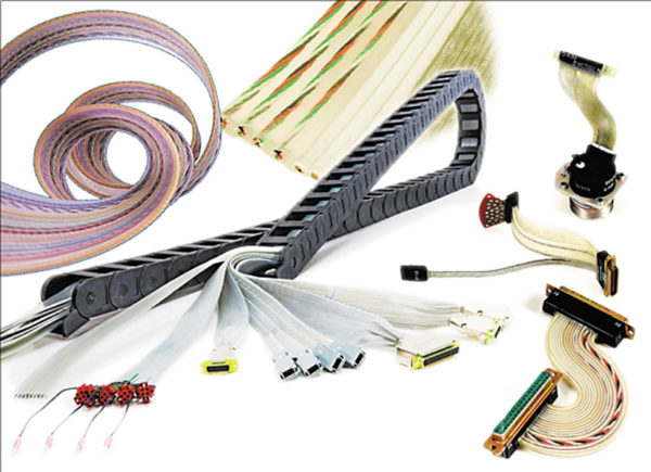 Примеры конфигураций плоского кабеля Cicoil