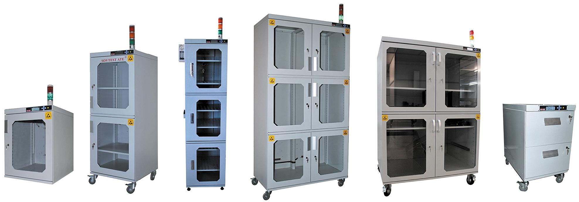 Модельный ряд систем сухого хранения производства «Совтест АТЕ»