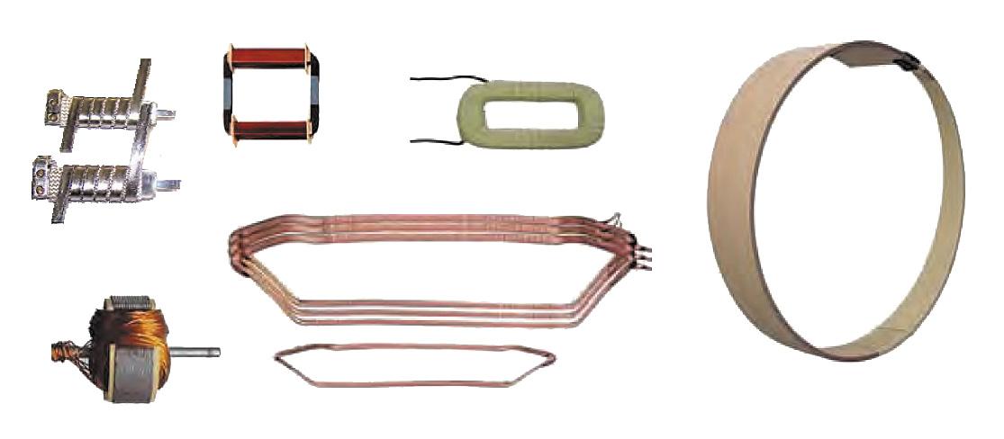 Форма изделий, изготовленных с использованием моточных станков