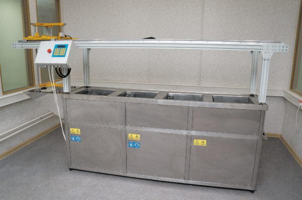 Роботизированная система ультразвуковой отмывки «Рондо»