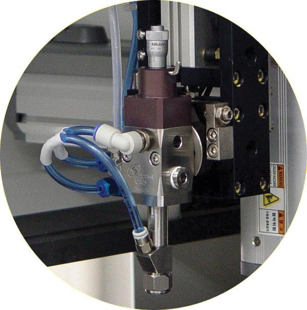 Модуль нанесения покрытий в режиме закрученной струи CAS-gun
