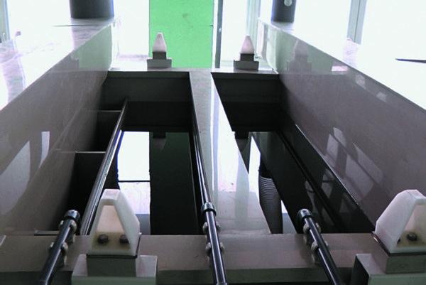 Ванна двухкаскадной промывки