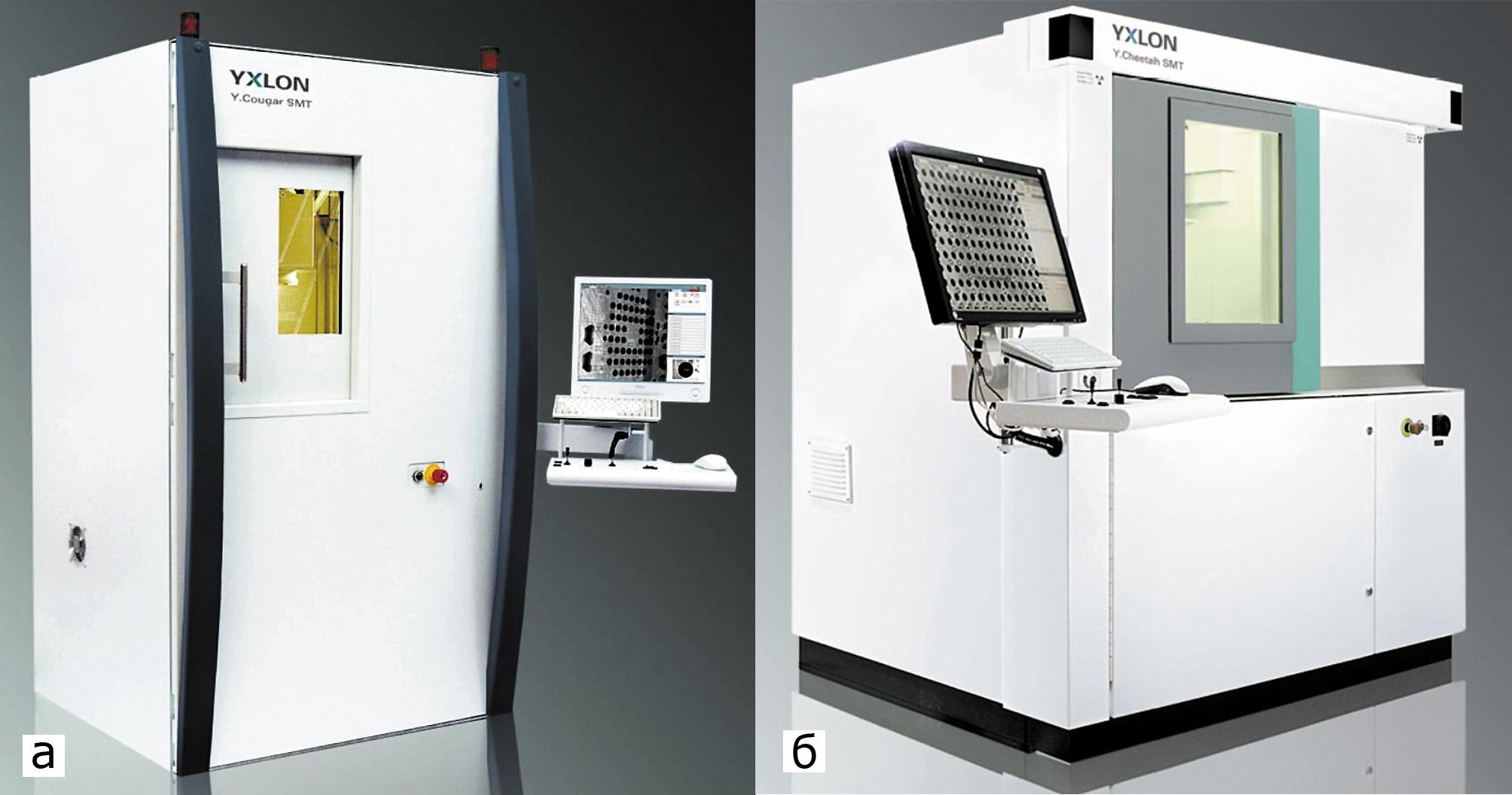 Установка рентгеновского контроля: Y.Cougar; Y.Cheetah