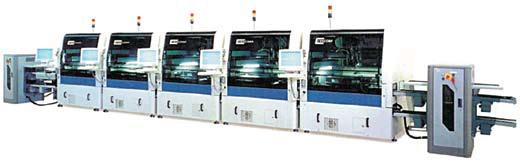 Сборочная линия из автоматов компании CENCORP