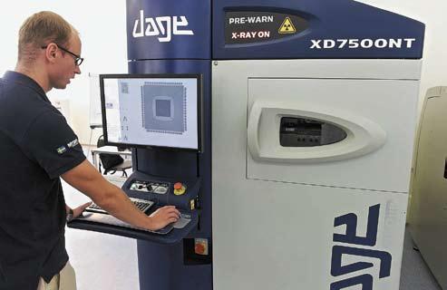 Система рентгеновского контроля компании Dage