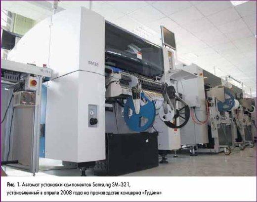 Автомат установки компонентов Samsung SM-321