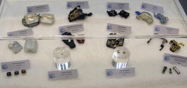 Образцы изделий, выполненные по технологии 3D-MID