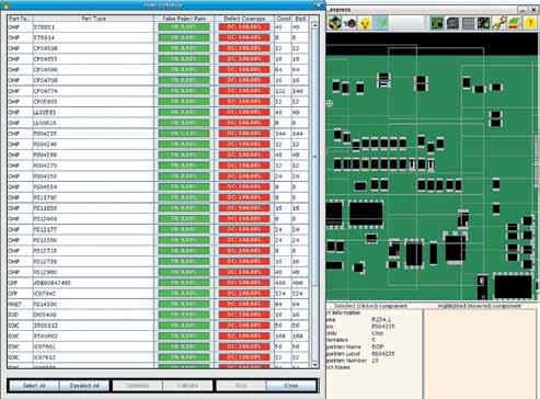 Отработка алгоритмов инспекции