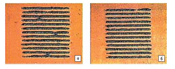Ошибки: а) перемычки; б) прерывающиеся линии