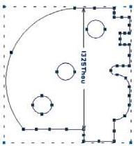Измерение размеров объектов на чертеже в CADSTAR
