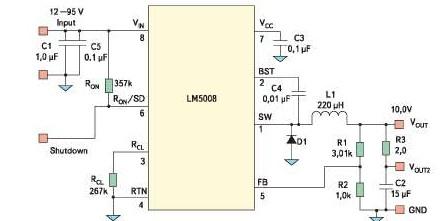 Altium Designer схема