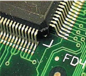Внешний вид соединений, выполненных лазерной пайкой