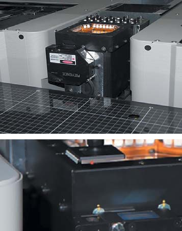 Лазерный сенсор проверки компланарности выводов компонентов