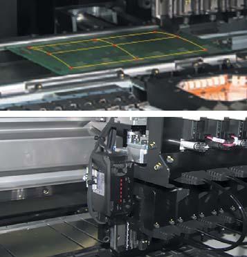 Лазерный сенсор дляконтроля высоты установки компонентов наповерхность ПП
