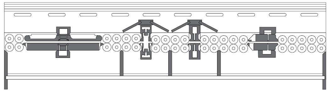 Схема линии без входного и выходного конвейера