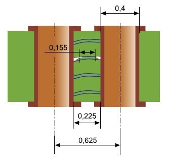 Уменьшение толщины диэлектрика
