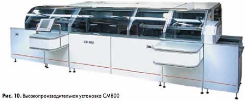 Высокопроизводительная установка СМ800