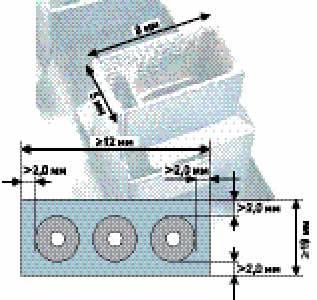 Требования к конструкции печатных плат при пайке окунанием с мультинасадками