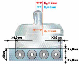 Требования к конструкции печатных плат при пайке мини-волной