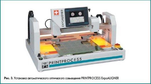 Установка автоматического оптического совмещения PRINTPROCESS ExpoALIGNER