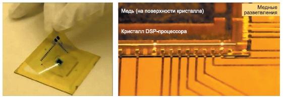 Общий вид компактного устройства с очень тонким кристаллом