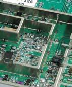 Пример смонтированного ВЧ-экрана