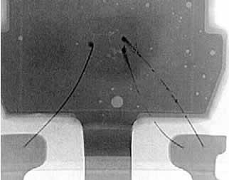 Изображение, полученное компанией Dage с помощью рентгеновской трубки открытого типа
