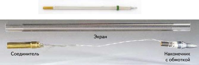 Картридж-наконечник индукционного паяльника