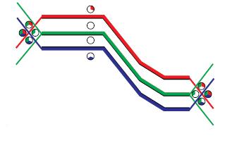 Полная карта теней перемещения оператора