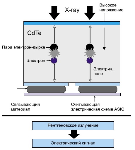 Принцип действия камеры SID-A50