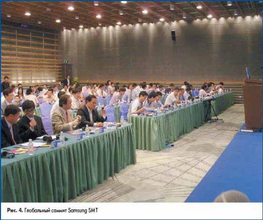 Глобальный саммит Samsung SMT