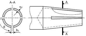 Схема упругого контакта