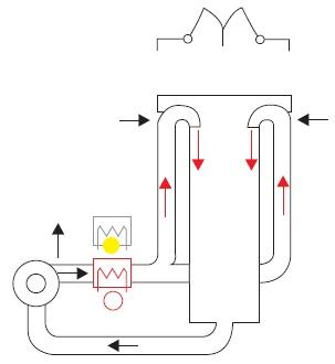 Модуль сушки горячим воздухом