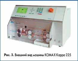 Внешний вид машины KOMAX Kappa 225