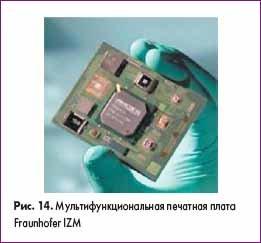 Мультифункциональная печатная плата Fraunhofer IZM