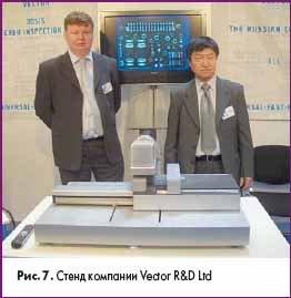 Стенд компании Vector R&D Ltd