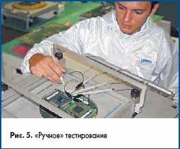 «Ручное» тестирование печатных плат