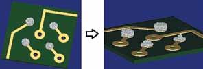2D-инспекция не дает информации о реальном объеме отпечатков пасты