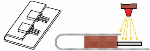 Защита корпусов транзисторов при абразивной обработке